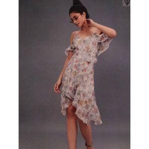J.O.A. Ivory Midi Dress Size Small
